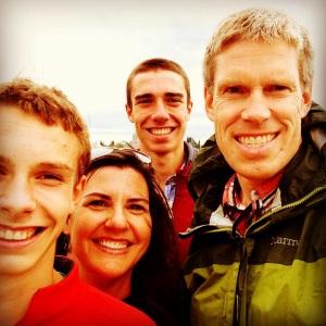 family selfie, summer 2013