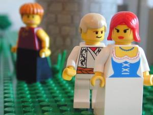 Jacob loved Rachel more than Leah www.bricktestament.com