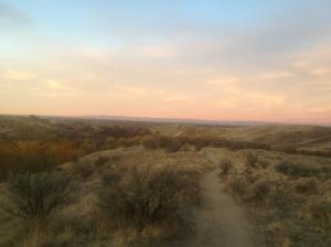 Just look at that horizon!