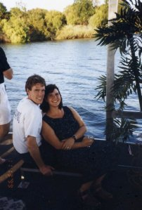 on the Zambezi river in 1999.
