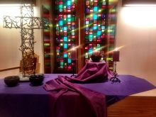 ash wednesday table