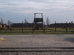Birkenau guard tower