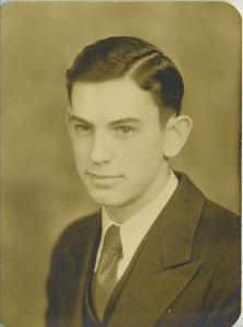 High School Senior picture 1932-ish