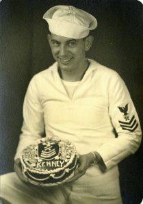 joining the Navy, February 1942