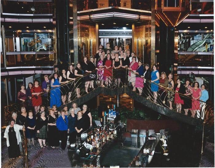 RevGals on 2015 Big Event (a Continuing Education Cruise)