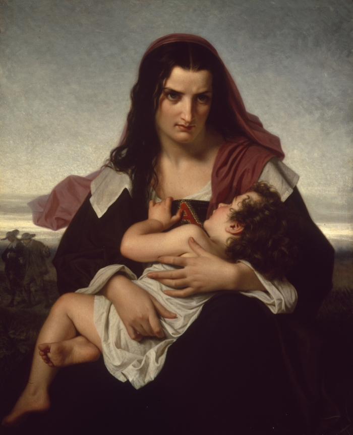 The Scarlet Letter by Hugues Merle
