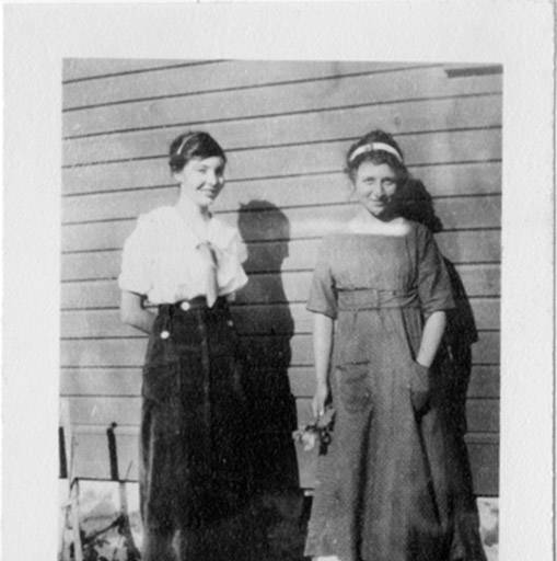 my maternal grandmother is on the left