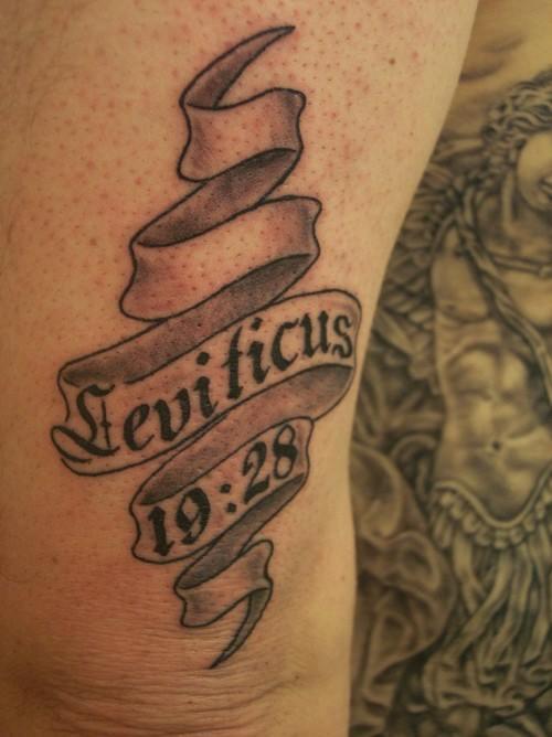 leviticus tattoo