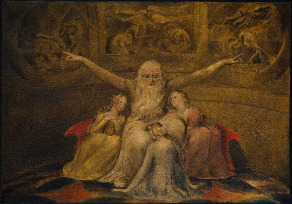 William_Blake_-_Job_and_His_Daughters